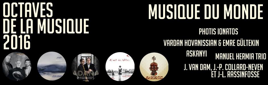 octaves de la musique 2016